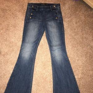 Express Bell Bottom Jeans